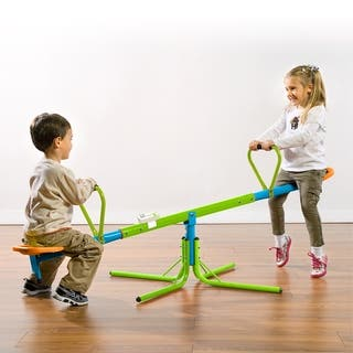 Pure Fun 360 Swivel Kids Seesaw with Phonetic Counter