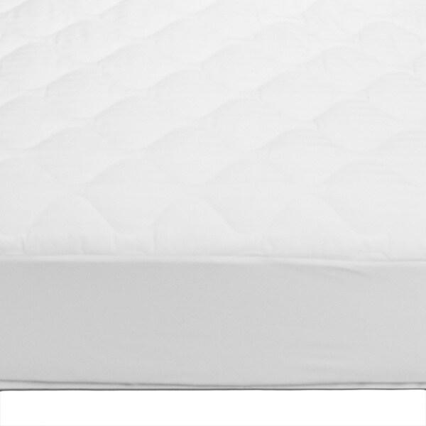 Ivy Union Cotton Top Damask Twin XL Mattress Pad