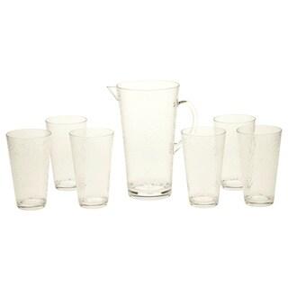 Clear 7-piece Drinkware Set