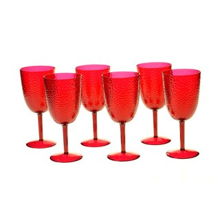Ruby 16-ounce All-purpose Goblet (Set of 6)