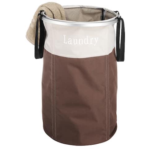 Whitmor 6205-2464-JAVA Easy Care Java Laundry Hamper