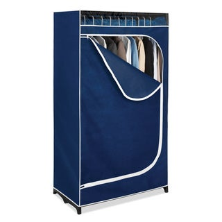 Whitmor 6320-150-B Blue Clothes Closet