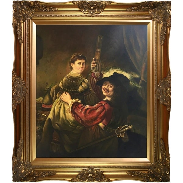 Shop Rembrandt 'Rembrandt and Saskia in the Parable of the ...