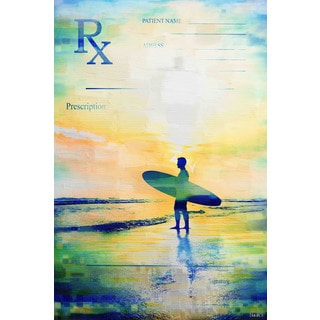 Parvez Taj 'RX Surf 2' Canvas Art