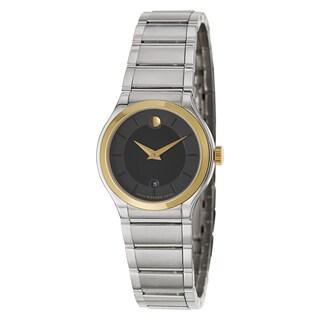 Movado Women's 'Quadro' Two-tone Swiss Quartz Watch
