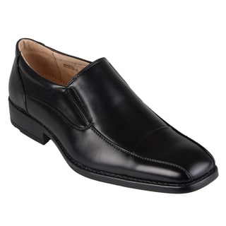 Boston Traveler Men's Square Toe Slip-on Dress Shoes