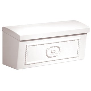 White Surface Mounted Townhouse Mailbox