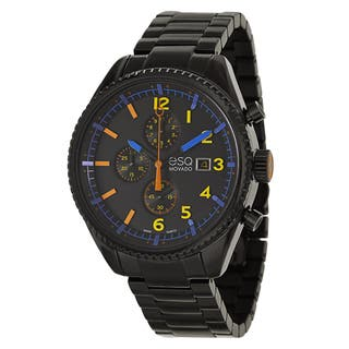 ESQ by Movado Men's 07301452 'Catalyst' Black Stainless Steel Chronograph Watch|https://ak1.ostkcdn.com/images/products/9069160/P16262029.jpg?impolicy=medium