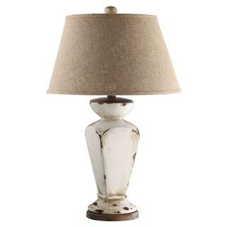 ELK Lighting Cadence Cream Aged Ceramic Table Lamp
