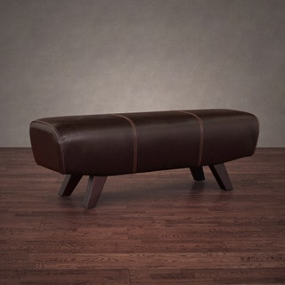 Austin Vintage Tobacco Leather Pommel Bench