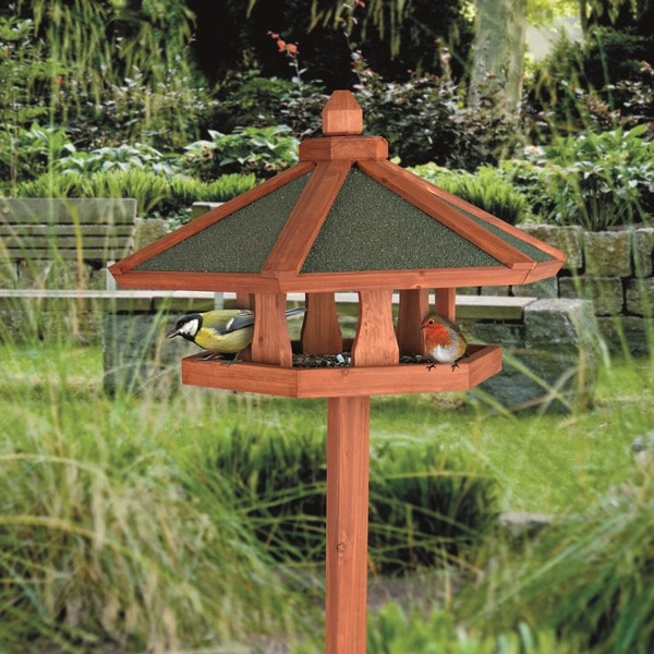 Shop Trixie Wooden Bird Feeder Gazebo With Tripod Stand