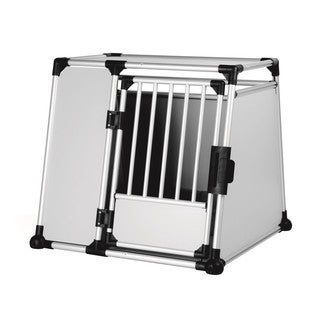 TRIXIE Double Extra Large Scratch-resistant Metallic Pet Crate