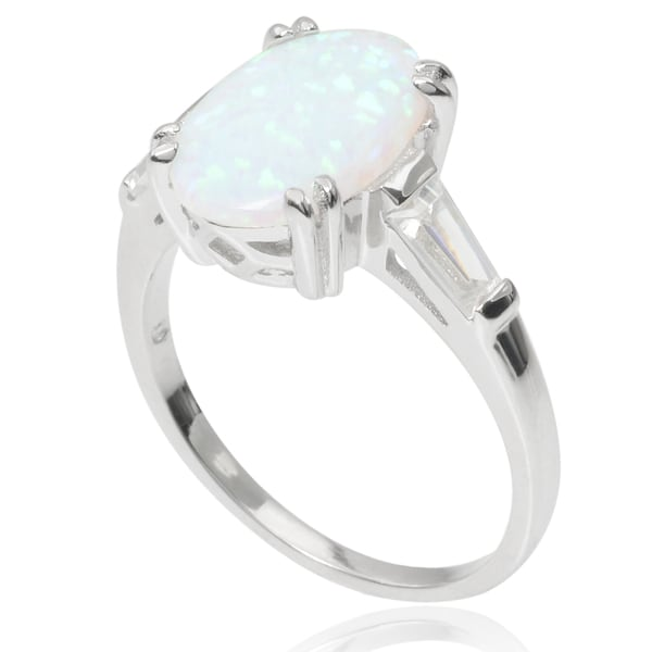Journee Collection Sterling Silver Cubic Zirconia Accent Ring