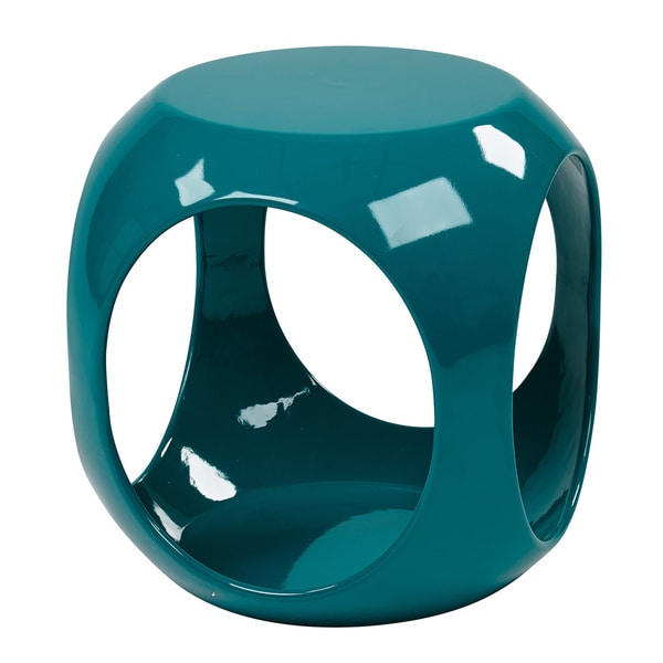 Ave Six Slick High Gloss Accent Table   Free Shipping Today   Overstock.com    16264183