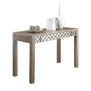 Helena Driftwood Colored Wood Writing Desk
