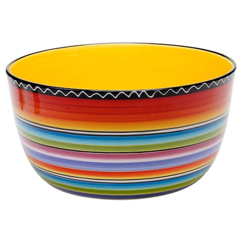 Certified International Tequila Sunrise 10.75-inch Deep Bowl