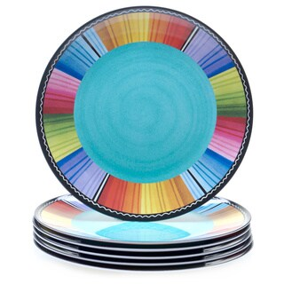 Certified International Serape 11-inch Melamine Dinner Plate (Set of 6)