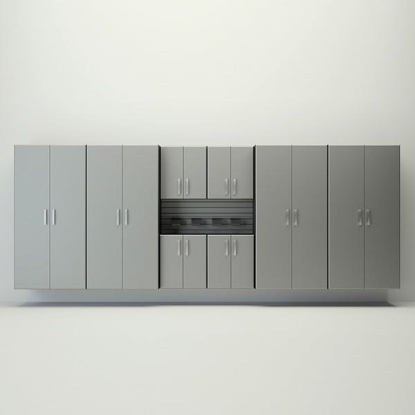 flow wall 16foot jumbo cabinet storage set