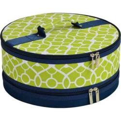 Picnic at Ascot Pie/Cake Carrier Trellis Green