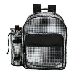 Picnic at Ascot Houndstooth Picnic Backpack for Four Houndstooth