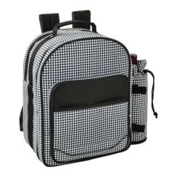 Picnic at Ascot Houndstooth Picnic Backpack for Two Houndstooth