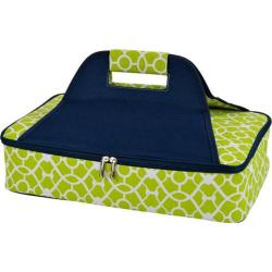 Picnic at Ascot Insulated Casserole Carrier Trellis Green