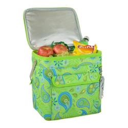 Picnic at Ascot Paisley Green Multi Purpose Drinks Carrier Paisley Green