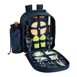 Picnic at Ascot Picnic Backpack for Two Trellis Green