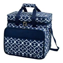 Picnic at Ascot Picnic Cooler for Four Trellis Blue