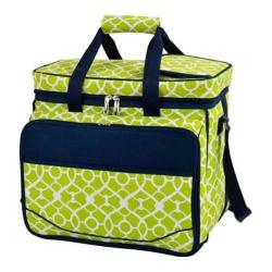 Picnic at Ascot Picnic Cooler for Four Trellis Green