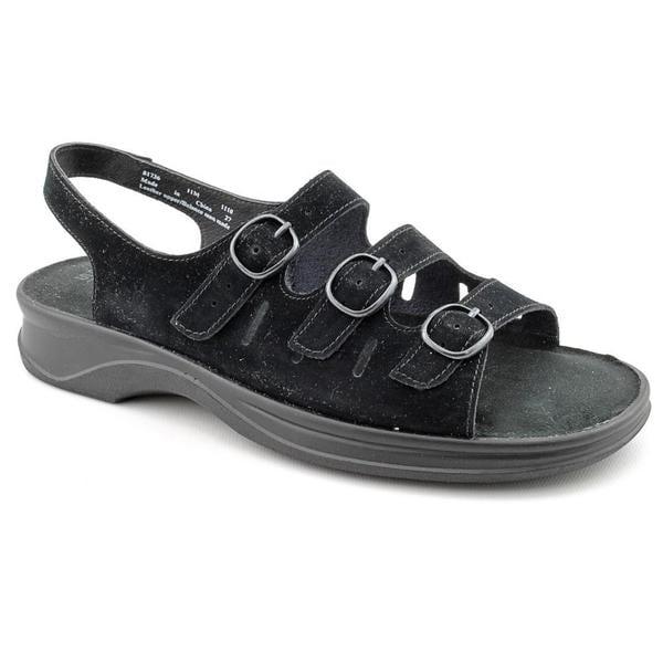 376b50628a2b Shop Clarks Women s  Sunbeat  Nubuck Sandals - Narrow (Size 7.5 ...