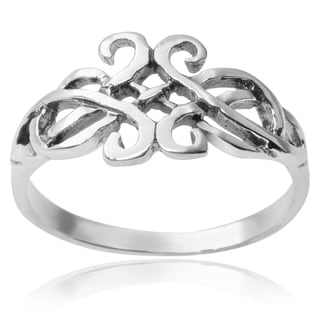 Journee Collection Sterling Silver Ring