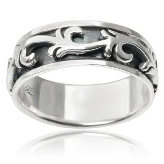 Vance Co. Sterling Silver Spinner Band
