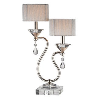 Krystal Double light Accent Lamp