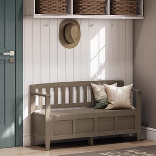 WYNDENHALL Riverside Entryway Storage Bench