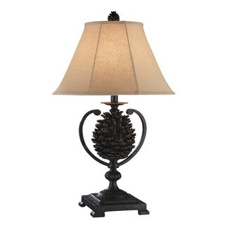 Big Sur Pine Cone Table Lamps (Set of 2)