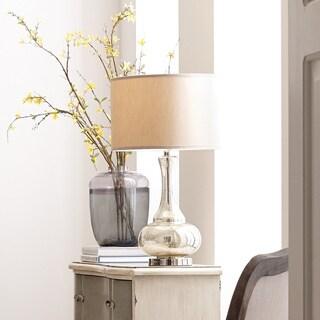 ELK Lighting Linore Silver Metal Glass Table Lamp