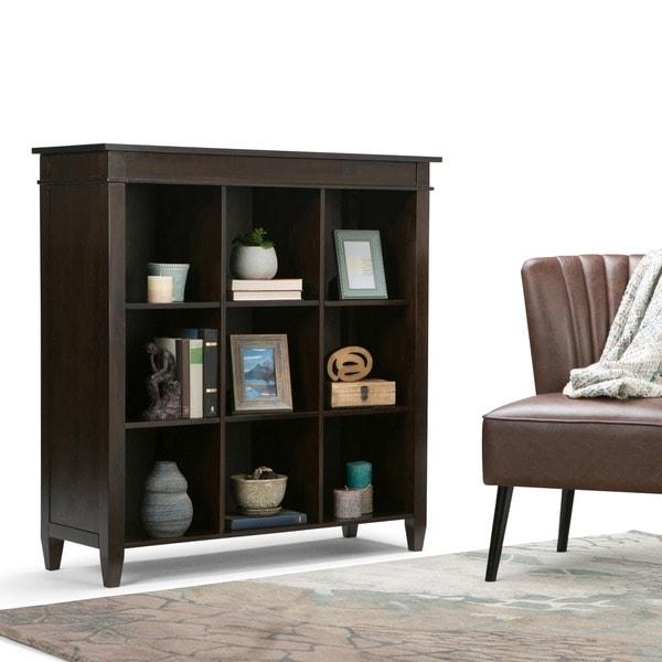 WYNDENHALL Sterling 9 Cube Bookcase Storage Unit