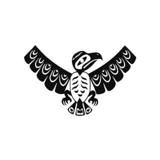 Tribal Eagle Tattoo Mural Vinyl Wall Art