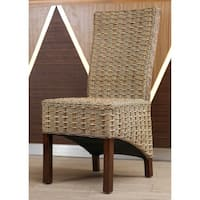 International Caravan Bayu Mahogany Dining Chair (Set of 2)