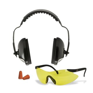 GSM Walkers Pro-Low Profile Folding Muff/Glasses/Plugs Combo