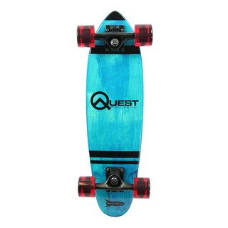 Quest Blue Pockit Rockit Cruizer 24-inch Skateboard