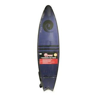 Quest Blue Soft-top 7-foot Surfboard