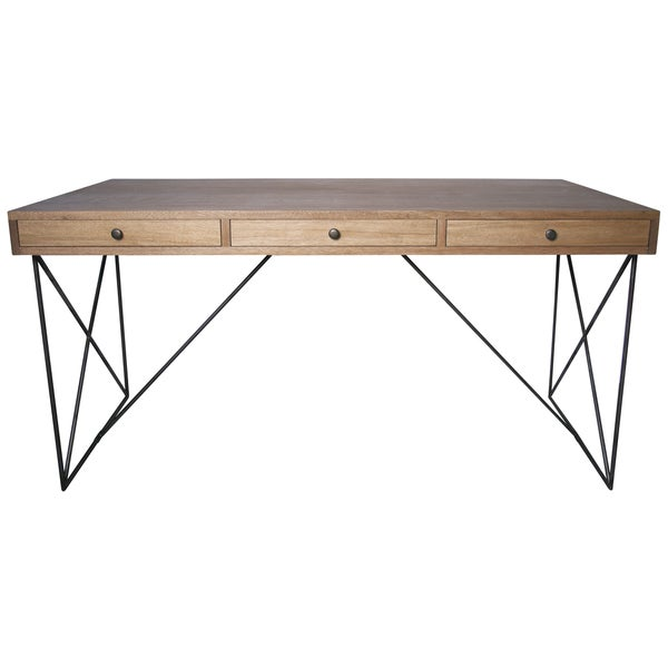 Muse Dark Walnut Kato Desk - Free Shipping Today - Overstock.com