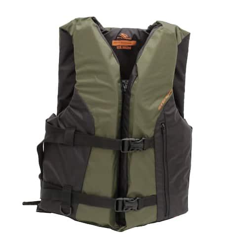 Stearns Sportsmans Life Vest Oversize Adult Green