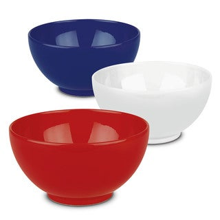 Waechtersbach Fun Factory Red White and Blue Serving Bowls (Set of 3)