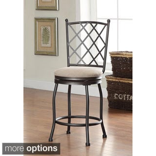 Tristan Swivel Bar Stool with Cushion
