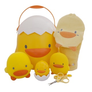 Piyo Piyo Yellow Ducks Bathing Toddler Gift Set