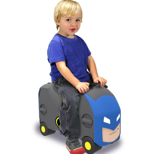 vrum batman carry-on ride along kid u0026 39 s suitcase - free shipping on orders over  45