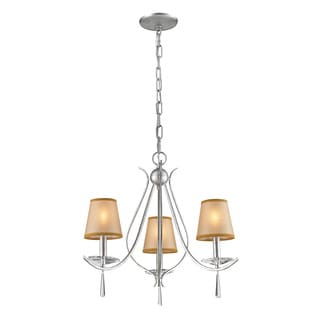 Clarendon 3-light Silver Chandelier